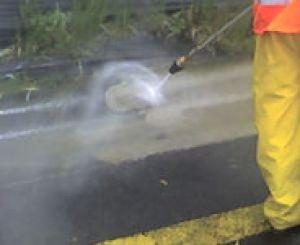 Neteja amb aigua a pressió